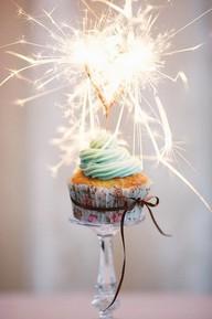 new year cupcake