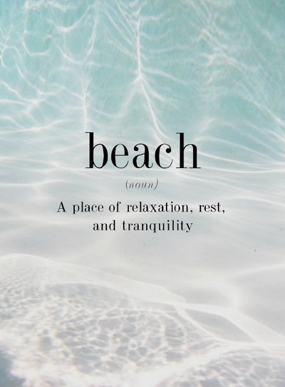 Beach - Relaxation