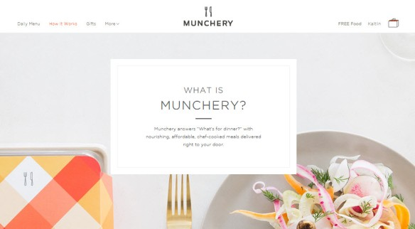 what is munchery